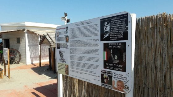 Spiaggia fascista a Chioggia, il gip archivia le accuse al gestore