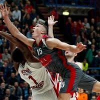 Basket, Eurolega: l'Olympiacos beffa Milano, decisivo l'ex McLean