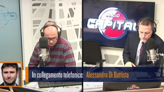 Di Battista a Radio Capital: