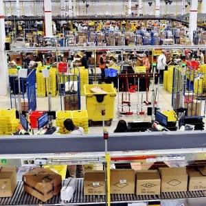 Il centro logistico di Amazon a Castel San Giovanni