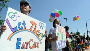 Nozze gay, quella torta negatache divide gli Stati Uniti