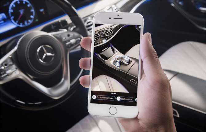 Ask Mercedes, un'app per spiegare le funzioni dell'auto