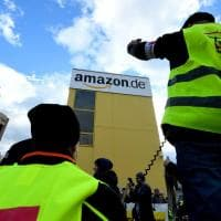 Amazon, la protesta dei lavoratori in Germania
