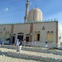 Egitto, attacco a moschea a Bir al-Abed: le prime immagini