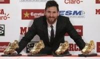 """Messi vince la 4° scarpa d'oro: """"Mi diverto ancora"""""""