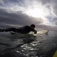 Mondiali surf disabili: Matteo e quel lancio da 4000 metri