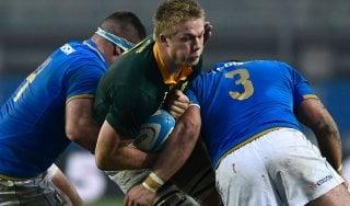 Rugby, stavolta niente impresa: l'Italia si arrende al Sudafrica