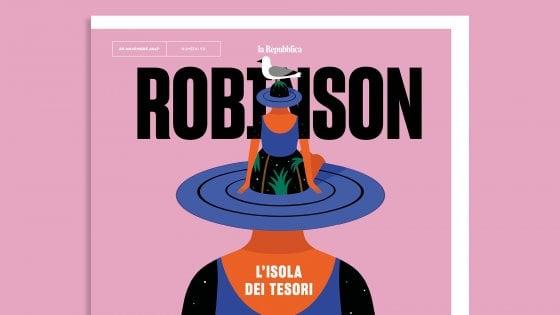Robinson compie un anno: con Repubblica un numero tutto speciale