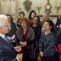 Mattarella, la violenza contro le donne