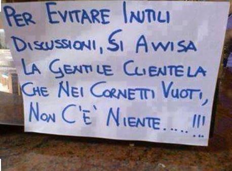 DEUOLL Se scritte e cartelli diventano barzellette    di ALESSANDRA VITALI