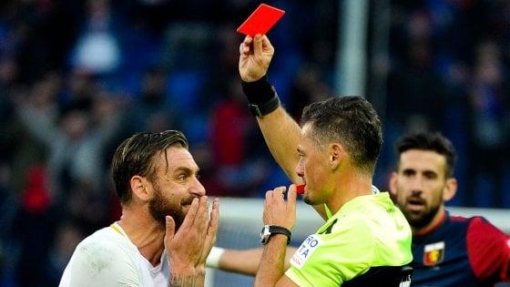 Genoa-Roma 1-1: follia De Rossi, i giallorossi si fermano a Marassi