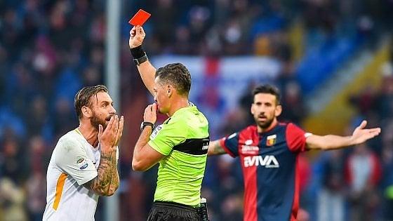 """Roma, De Rossi: """"Chiedo scusa, ho sbagliato"""". Di Francesco: """"Vittoria buttata"""""""