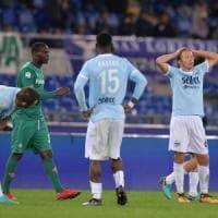 Lazio-Fiorentina 1-1: De Vrij illude, Babacar su rigore col Var riprende i biancocelesti al 94'