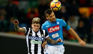 Le pagelle di Udinese-Napoli: Widmer nervoso, Maggio il migliore