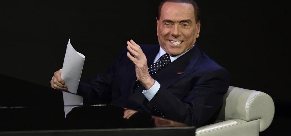 Ascolti, effetto Berlusconi su 'Che tempo che fa': oltre un punto e mezzo di share in più