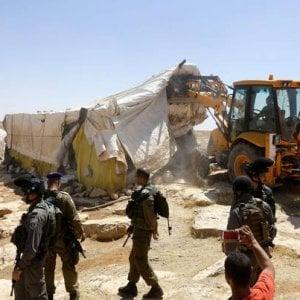 """Ebrei contro l'occupazione, """"Il governo israeliano vuole abbattere 300 case di palestinesi"""""""