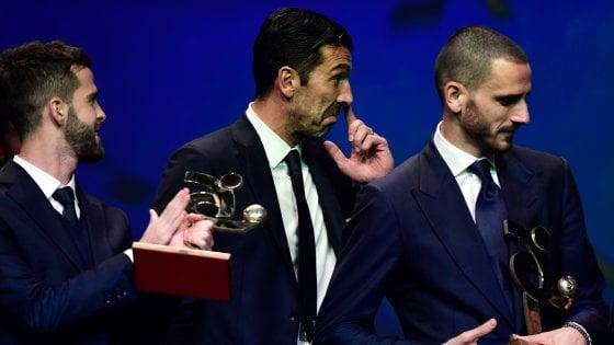 Gran Galà del Calcio: Buffon miglior giocatore 2016/17, Sarri miglior tecnico