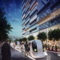 Verde e aperto ai veicoli a guida autonoma. Ecco come sarà il parco dell'innovazione...