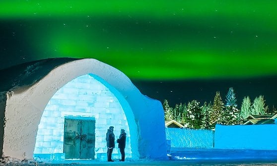 Tra Sami, alberghi di ghiaccio e aurore boreali. Inverno in relax alla svedese