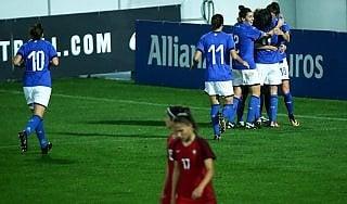 C'è un'Italia vicina ai Mondiali: azzurre vincono in Portogallo