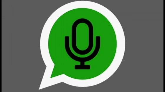 WhatsApp, per registrare audiomessaggi non serve più il dito