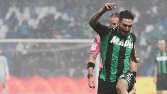 Coppa Italia, Politano porta il Sassuolo agli ottavi. L'Hellas batte il Chievo nel derby, il Torino elimina il Carpi