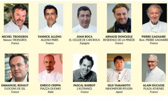 Les 100 chefs 2018, la classifica stilata dai migliori chef premia la Francia