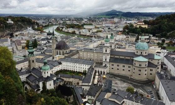 Monumenti, musica, addobbi. Salisburgo a ritmo di festa
