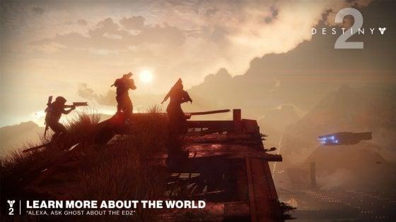 La Ai di Amazon entra nei videogame. Alexa aiuterà i giocatori di Destiny 2
