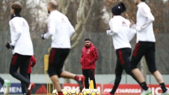 Milan, Gattuso già in ansia: Calhanoglu e Borini in dubbio per Benevento