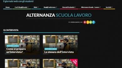 L'alternanza scuola-lavoro  con Repubblica anche online