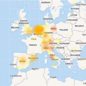 WhatsApp fuori uso per 40 minuti dall'America all'Europa