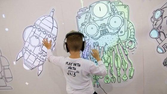 Bambini su Marte, fra droni e robot: al via il 'futuro in costruzione' della Maker Faire 4.0