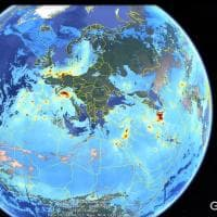 Dalla sentinella del Pianeta la mappa dell'inquinamento in Europa