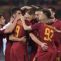 Roma-Spal 3-1: Dzeko, Strootman e Pellegrini, giallorossi sul velluto