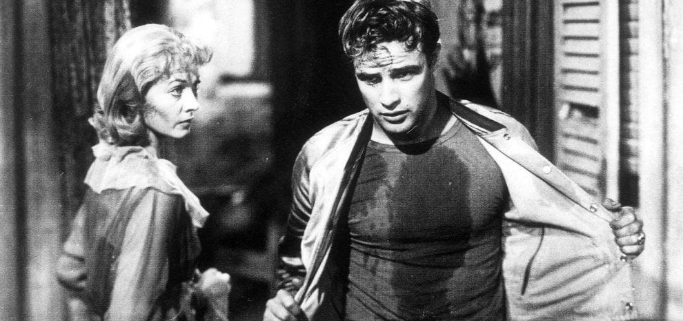 Marlon Brando, l'urlo di un debuttante in  'Un tram che ci chiama desiderio'
