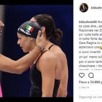 """""""A lui mi legano ricordi eccezionali"""": Federica Pellegrini per l'addio al nuoto di Magnini"""