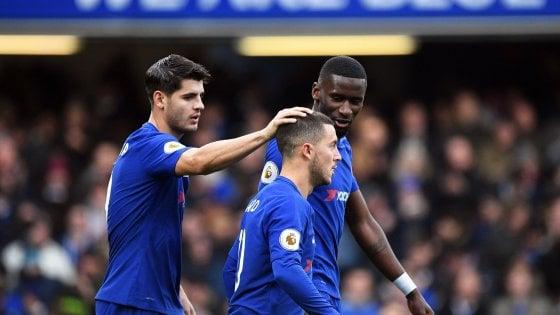 Inghilterra: Hazard come Zola, il Chelsea batte il Newcastle. Wenger-Mourinho finisce 1-3