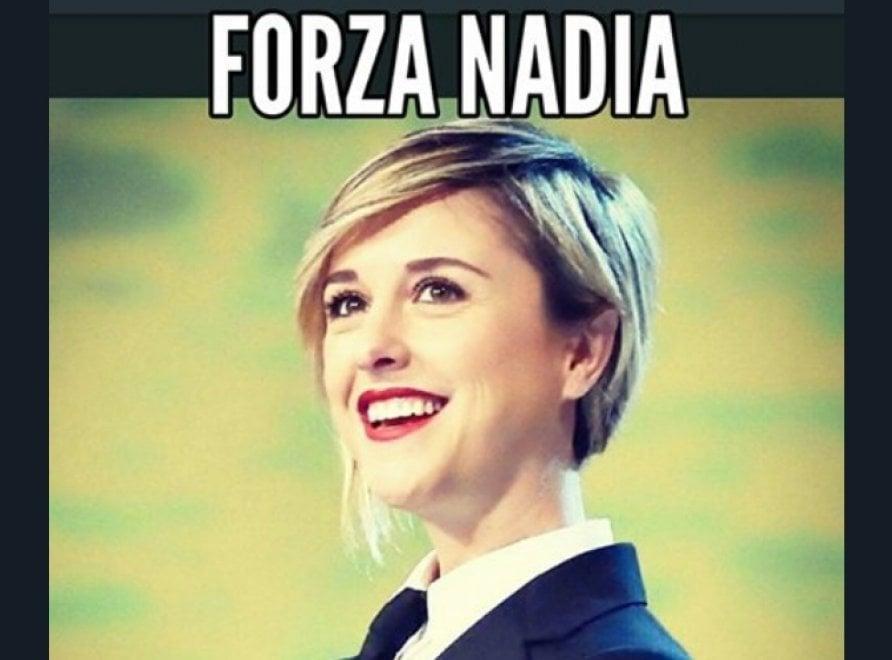 """""""Forza Nadia"""": sui social l'abbraccio alla Iena Toffa"""