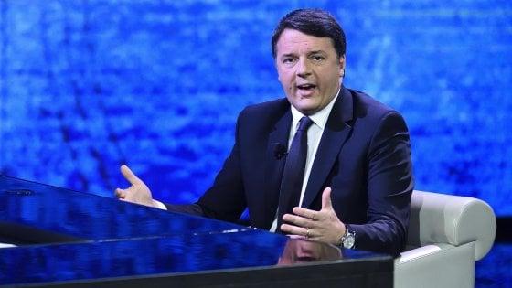 """Liberi e Uguali, l'affondo di Renzi su Grasso: """"Comanderà D'Alema, votarli è un favore a Salvini e Berlusconi"""""""