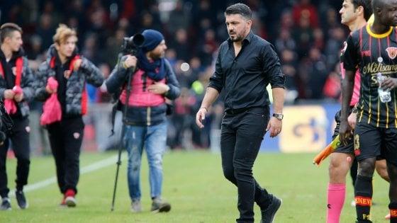 Milan, il problema è nelle gambe. Solo il Toro corre di meno