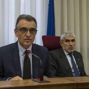 ll pm Rossi nel corso dell'audizione davanti alla Commissione Banche di giovedì scorso
