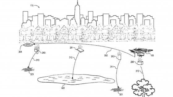 Amazon brevetta i droni che si autodistruggono