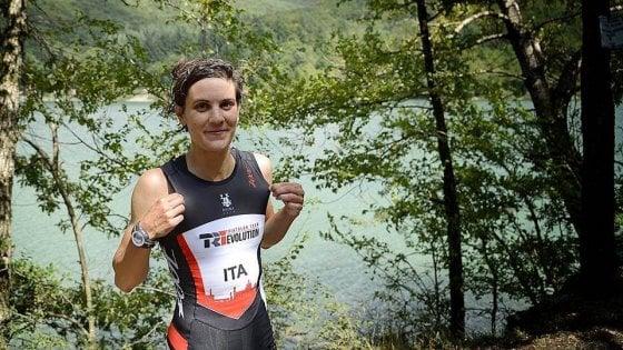 Marta corre veloce nel triathlon: da sconosciuta a campionessa italiana