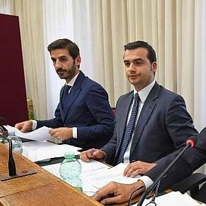 I deputati M5S Alessio Villarosa e Carlo Sibilia