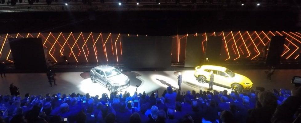 Lamborghini Urus, debutta in diretta il SSuv, il Super Suv da oltre 300 orari