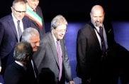 Il presidente Gentiloni alla presentazione della Lamborghini Urus
