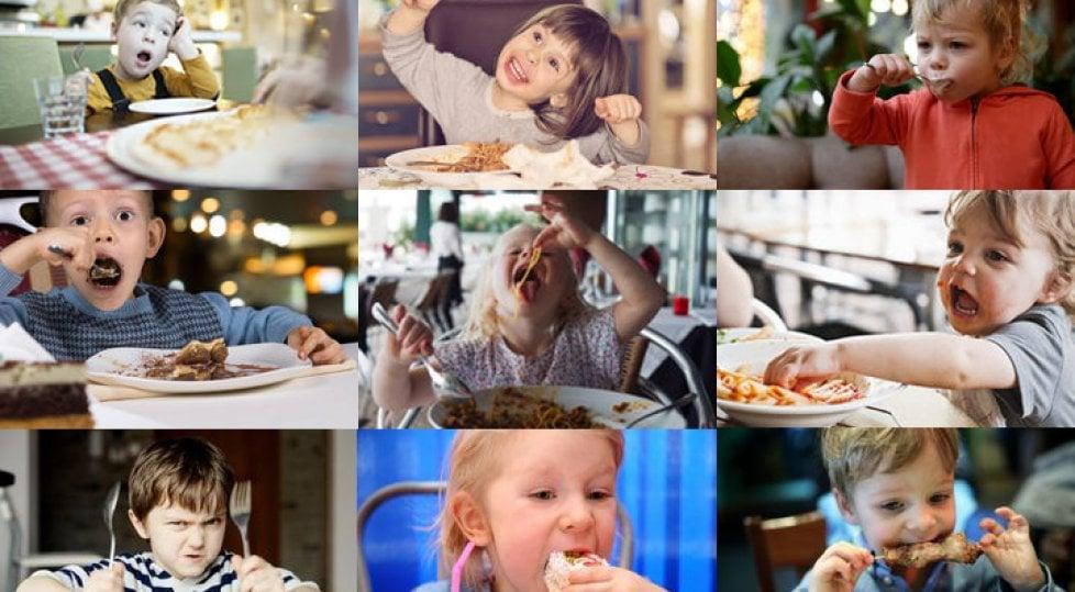 Cari genitori, volete portare i bambini al ristorante?    Studiate queste 10 regole