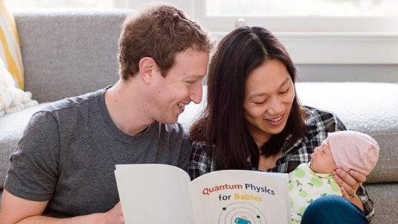 "Facebook, Zuckerberg annuncia: ""Vado in congedo parentale. Ci vediamo nel 2018"""