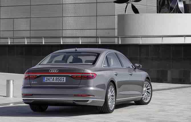 Guida autonoma, il colpo in più dell'Audi A8